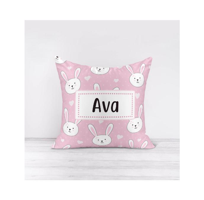 Personalised Bunny Cushion