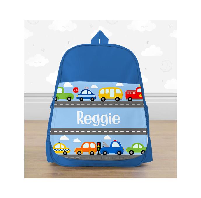 Personalised Cars & Transport Mini Backpack
