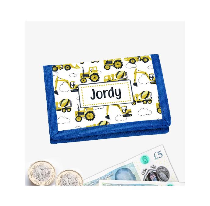 Personalised Digger Wallet