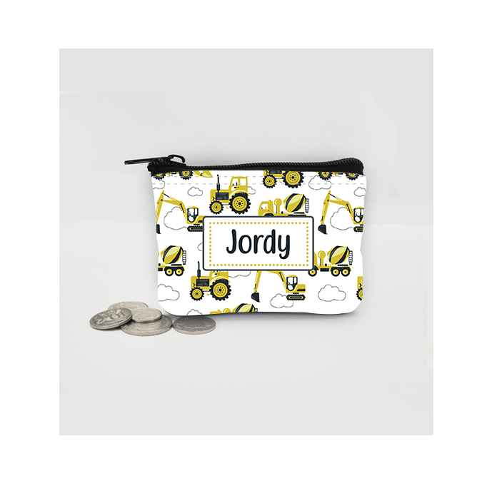 Personalised Digger Coin Purse