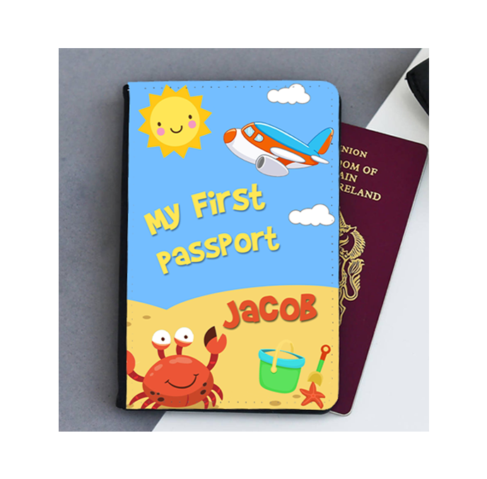 Personalised My First Passport Cover