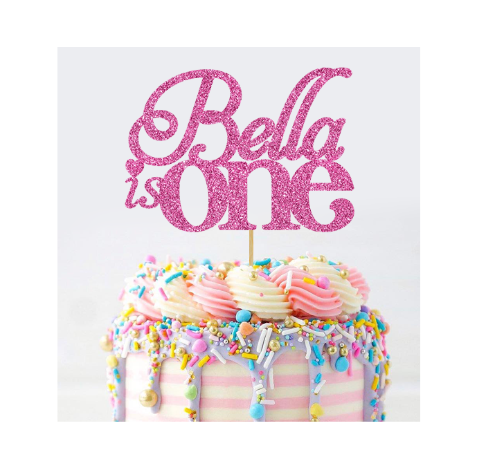 Personalised One Cake Topper