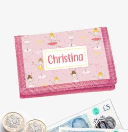 Personalised Ballerina Money Wallet