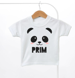 Personalised Panda Bear Kids T-Shirt