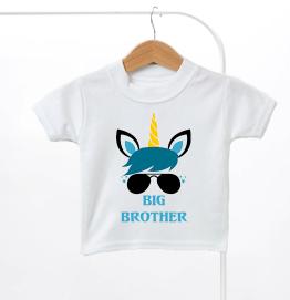 Big Brother Unicorn Kids T-Shirt