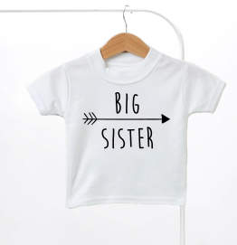 Big Sister Arrow Kids T-Shirt