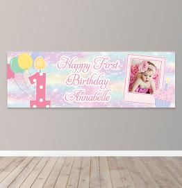 Personalised Birthday Photo Upload Banner