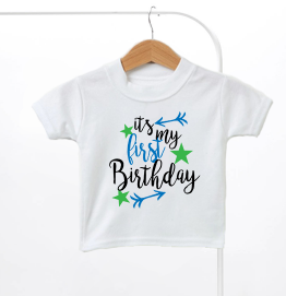 Its My Birthday Arrow Boys Kids T-Shirt