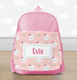 Personalised Bunny Rabbit Mini Backpack