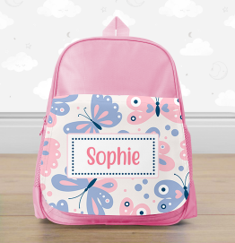 Personalised Butterfly Mini Backpack