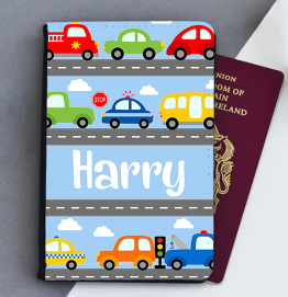 Personalised Cars & Transport Passport Cover