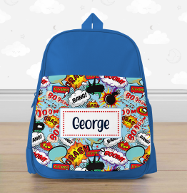 Personalised Pirate Backpack