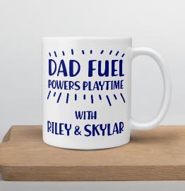Personalised Dad Fuel Mug