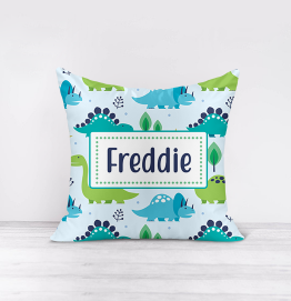 Personalised Dinosaurs Cushion