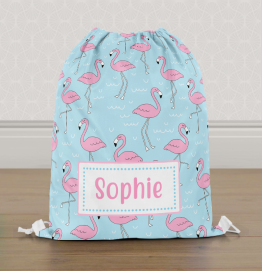 Personalised Hedgehog Gym Bag