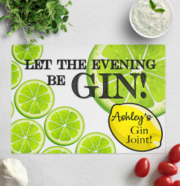 Personalised Gin Chopping Board