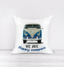 We are Happy Campers Cushion