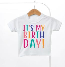 Its My Birthday Kids T-Shirt