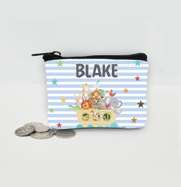 Personalised Noahs Ark Coin Purse