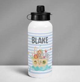Personalised Pink Dinosaur Drinks Bottle