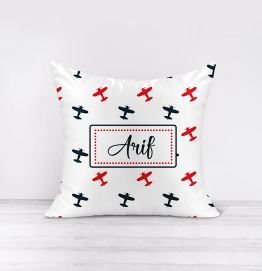 Personalised Aeroplanes Cushion