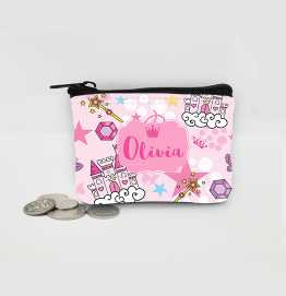 Personalised Princess Coin Purse