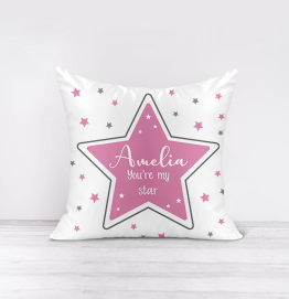 Personalised You're My Star Cushion
