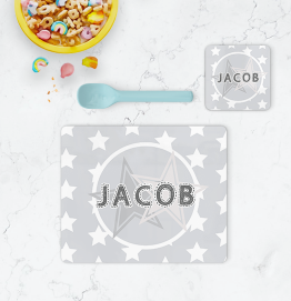 Personalised Stars Placemat & Coaster
