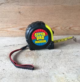 Personalised Super Dad Tape Measure