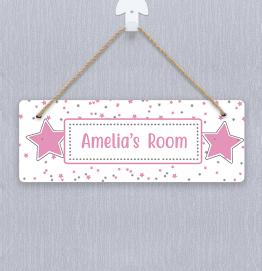 Personalised Stars Door Hanger