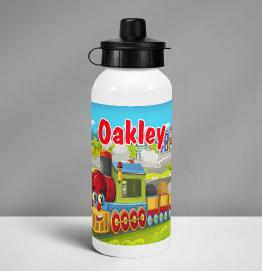 Personalised Colourful Dinosaur Drinks Bottle