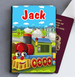 Personalised Train Passport Cover