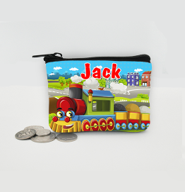 Personalised Train Coin Purse