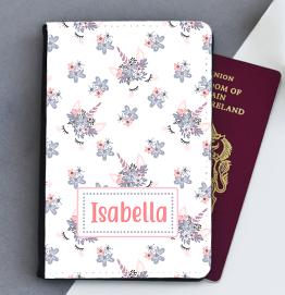 Personalised Unicorn Heads Passport Cover